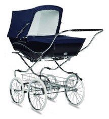 Barnvagn Kensington, Navy - Silver Cross