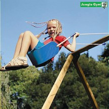 Jungle Sling Swing lättvikt sits, blå